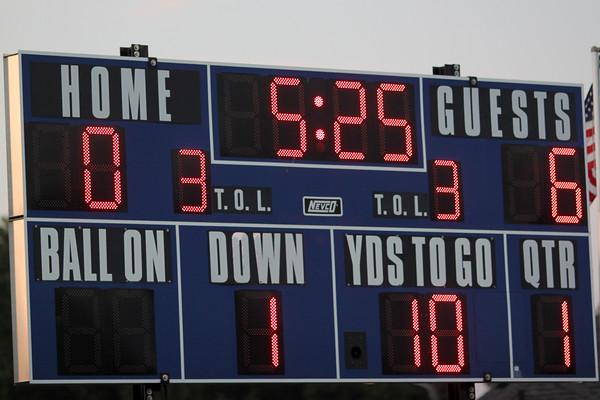 Winfield Mt. Union makes a touchdown