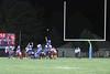 Danville tries to block a kick