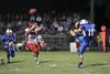 Danville's Connor Hoelzen (#18) and Winfield Mt. Union's Kyle Davis (#55)