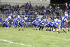 Danville on the line of scrimmage