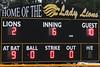 sixth inning score