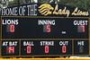 fifth inning score