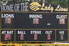 second inning score