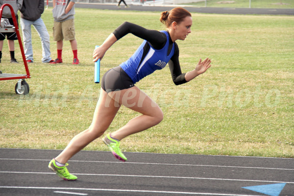 Girls Track @ Windfield, 4/17/2014