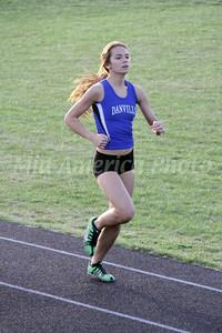 Girls Track @ Winfield, 4/25/2014