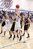 Danville's Carlee Kelly (#2), Emily Cameron (#32) and Central Lee's Hayley Edwards (#33), Josey Kirchner (#23) and Kelsey Bryant (#45)