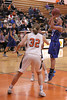 Danville's Allie Boyer (#23) and Fairfield's Sami Fritz (#32)