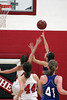 Girls Basketball, Danville vs Harmony 1/6/2012 :