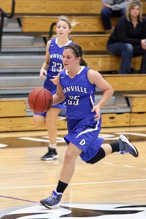 Danville's Kinsey Petersen (#25)