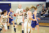 #14 Courtney Coffin, #23 Allie Boyer, #42 Emily Salvadore, #32 Taylor Hickey, #15 Cassie Stuflick