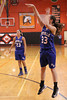 Danville's Allie Boyer (#23) and Emily Cameron (#33)