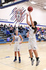 Danville's Allie Boyer (#22) and Gabbie Grothe (#0)