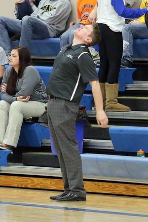 Danville Girls Basketball Head Coach Mike Radloff