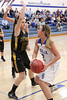 Danville's Carlee Kelly (#2) and Addie Lounsbury (#23)
