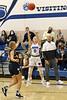 Notre Dame's Taryn Stephens (14) and Danville's Elizabeth Smith (0)