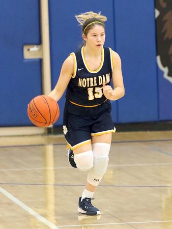 Notre Dame's Lauren Krieger (25)