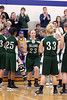Girls Basketball, West Burlington vs Danville 2/2/2012 :