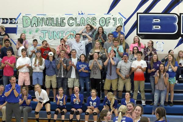 Danville student section