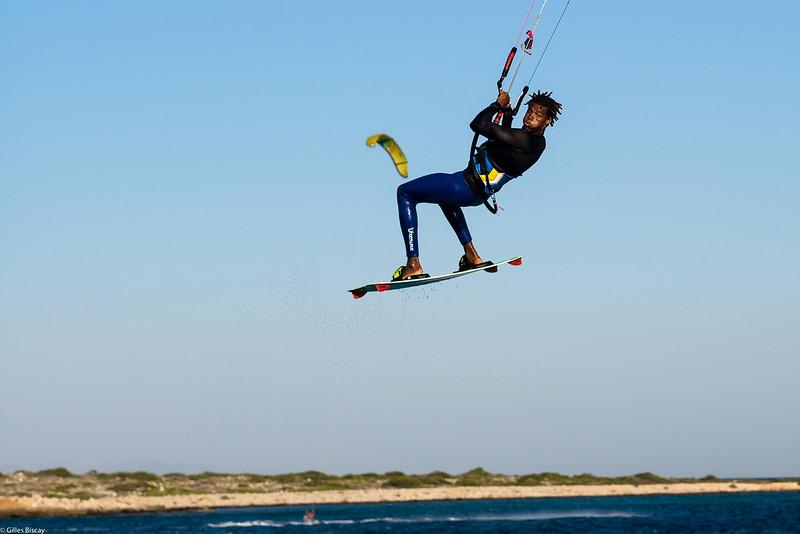 Kite Surf près de l'ile de Paros