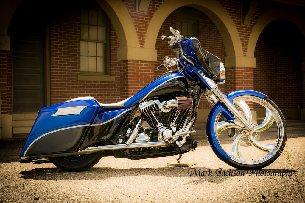 Custom bike photo shoot