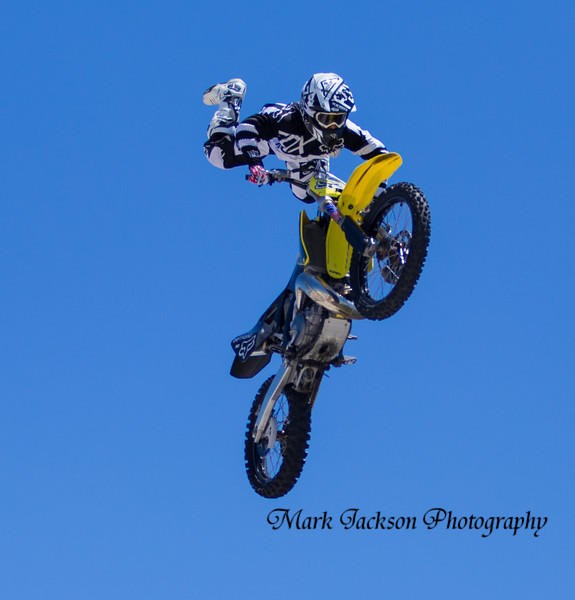 Moto GP Austin Tx. dirt bike jump show
