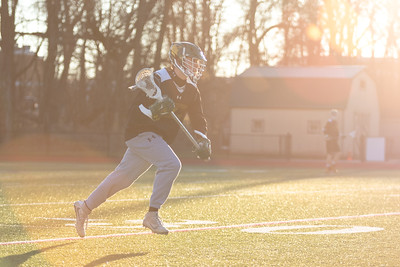 Lax Practice at Sunset
