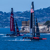 Oracle vs Kiwi's in the America's Cup
