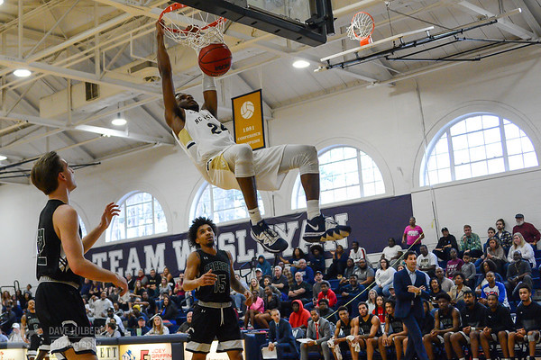 Men's Basketball: North Carolina Wesleyan College Bishops vs. William Peace University Pacers