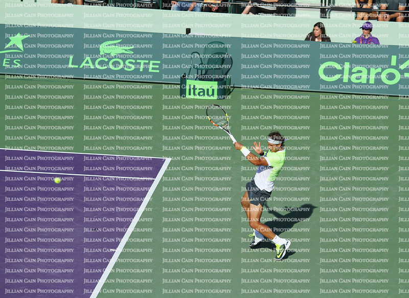 Rafa Nadal at the Miami Open on March 29, 2015