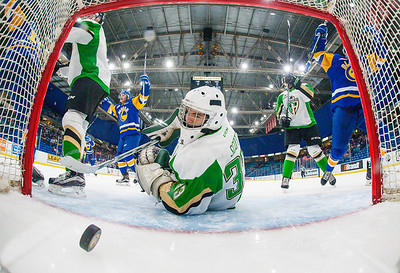 The Saskatoon blades host the Prince Albert Raiders at the Sask Tel Centre Saskatoon, Saskatchewan, Canada, October 06, 2016