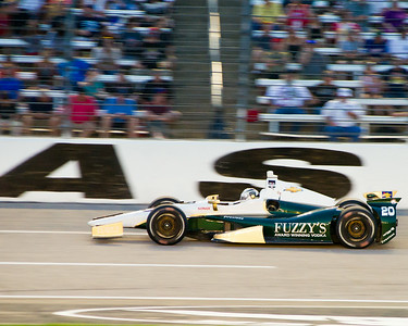 #20 Ed Carpenter at Texas Motor Speedway