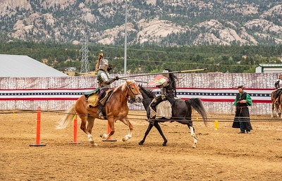 Jousting in the Rockies