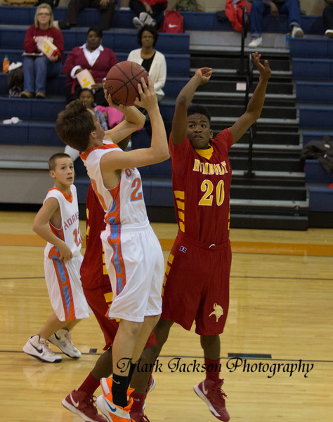 Medina vs Humboldt basketball middle school