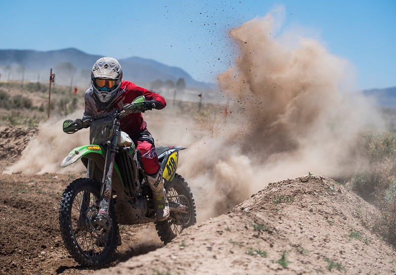 Racers compete during practice day of the World Off-Road Championship Series at Iron Mine Raceway Friday, May 25, 2018. The races will run all weekend, and feature professional drivers of Motocross, ATV, and UTV.
