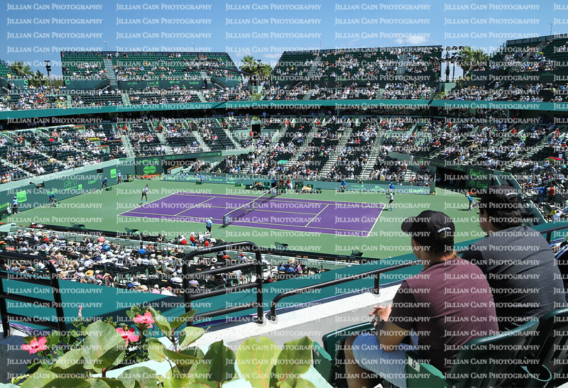 Editorial use only:    MIAMI OPEN, Key Biscayne, FL, USA, March 29, 2015:
