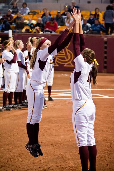 Arizona State Women's Softball team