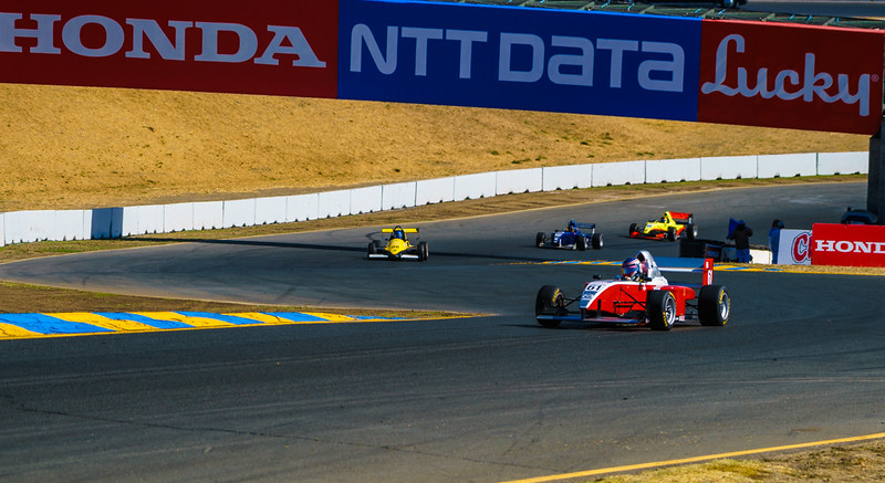 Indycars at Sonoma Raceway