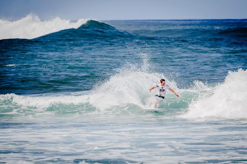 Surfing at North Shore, O'ahu