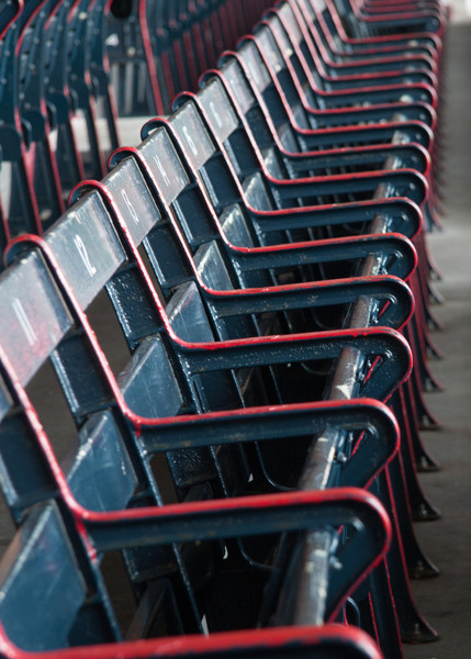 Seats at Fenway