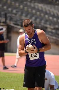Decathlon Shot Put Event