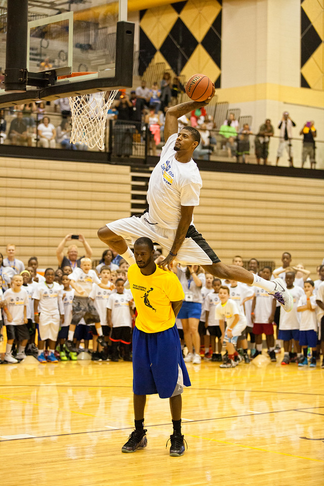 Paul George Youth Camp Dunk