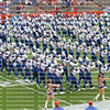 University of Florida Gator's Marching Band performs in the pre-game against Florida Atlantic University in the Ben Hill Griffin Stadium aka The Swamp.