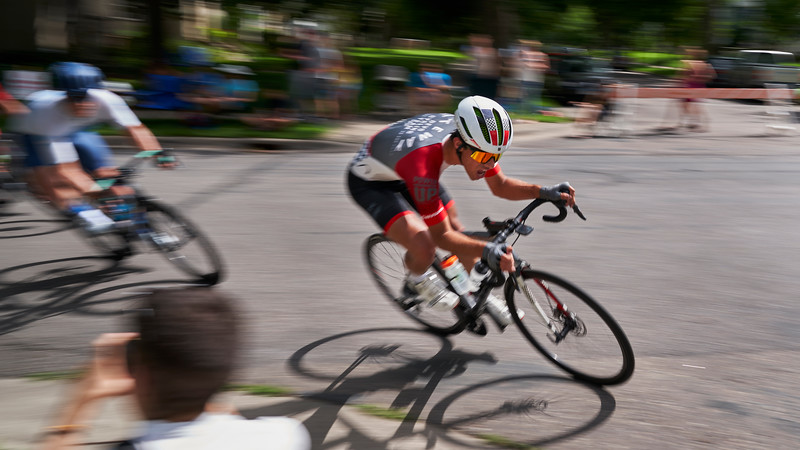 Southside Sprint bicycle racing, Minneapolis Minnesota - July 21.