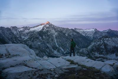 Trinity Alps Campsite View
