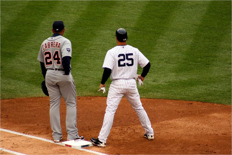 Miguel Cabrera and Mark Teixeira