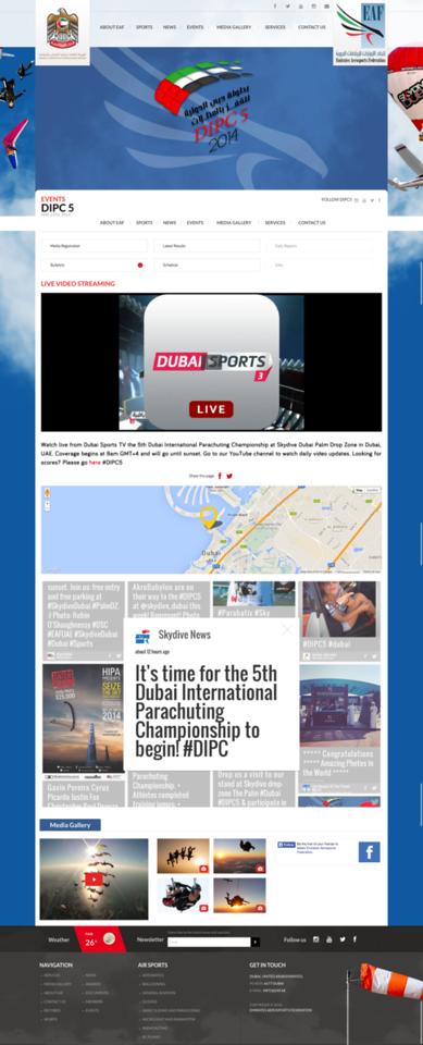 Dubai International Parachuting Championship
