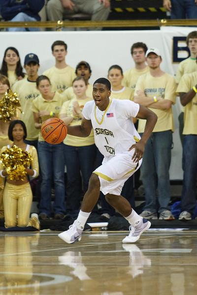 Georgia Tech Basketball vs. Winston-Salem State 2008
