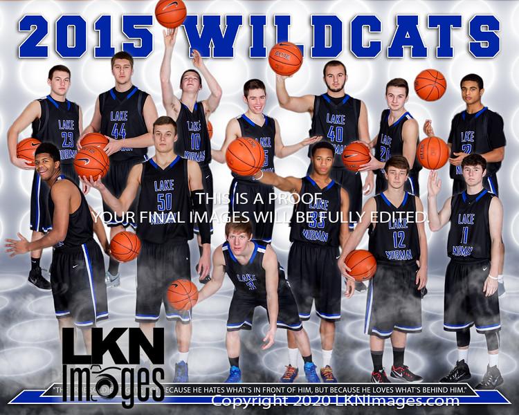 2015 LNHS Basketball 16x20