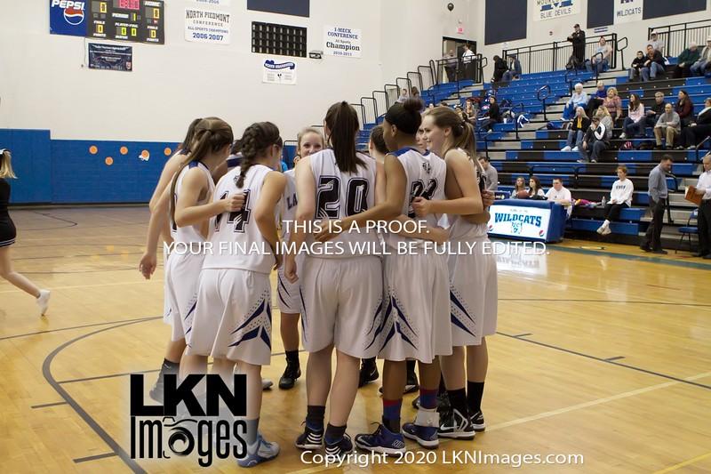 02-07-14 LNHS vs North Lincoln, Varsity <br /> Senior Night <br /> Mooresville, NC