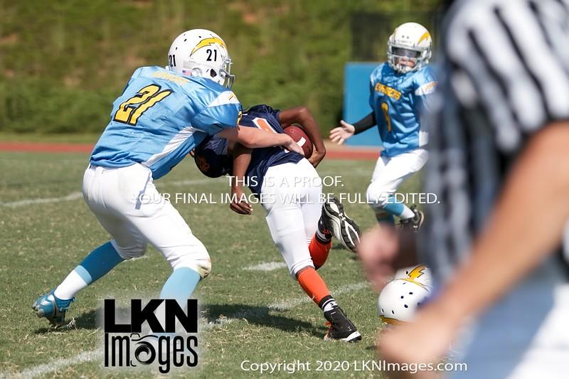 BAYAA/LYAA Football <br /> LKNSports.com<br /> Game 6